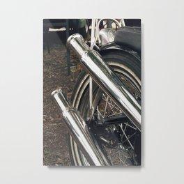 Morning Bugle Metal Print