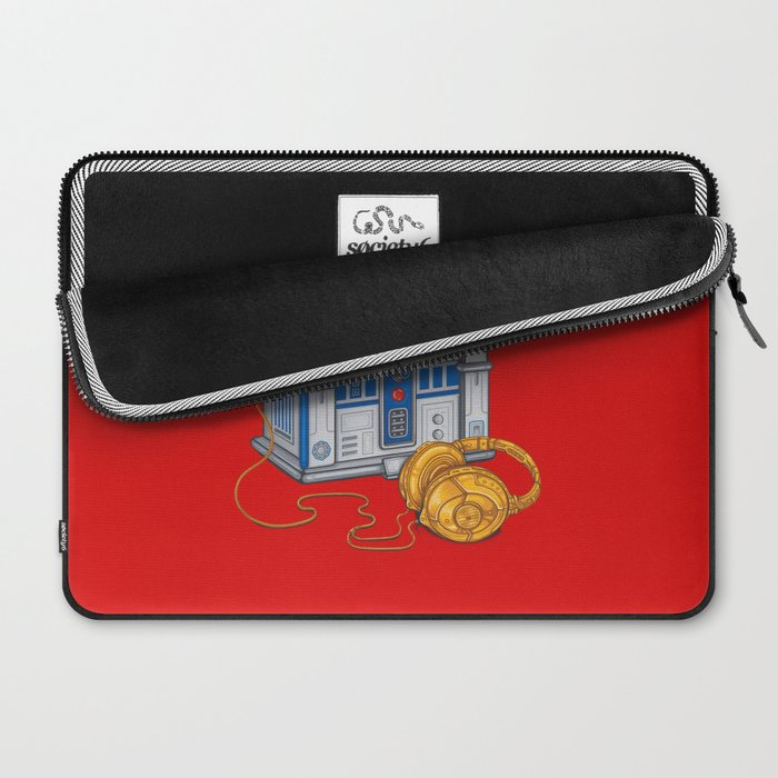 Beats by Droid - Recycled Future Laptop Sleeve
