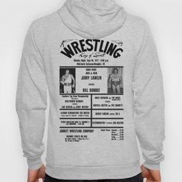 #6 Memphis Wrestling Window Card Hoody