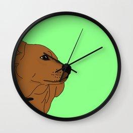 Cornfeet Wall Clock