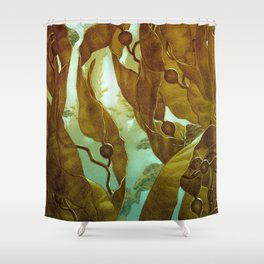 In the Kelp Forest Shower Curtain