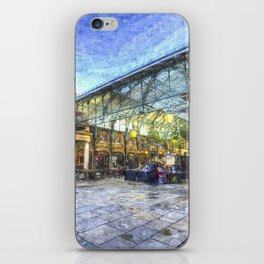 Covent Garden London Oil Art iPhone Skin