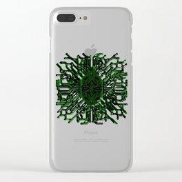 Dpx emblem Clear iPhone Case