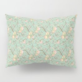 Peaches and Blossoms Pillow Sham