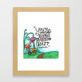 You're Bonkers Framed Art Print