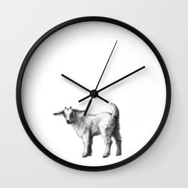 Goat baby G147 Wall Clock