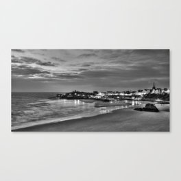 View across Tenby Harbour Canvas Print