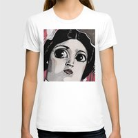 leia T-shirts featuring Leia by Drawn by Nina