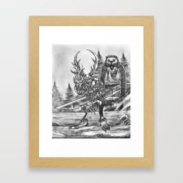 Sanctuary Guardian Framed Art Print