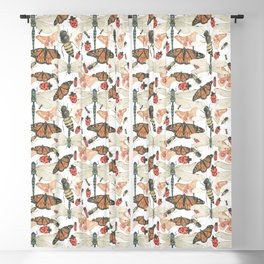 Scattered Bugs Blackout Curtain