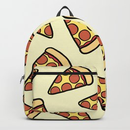 Pepperoni Pizza Pattern Backpack
