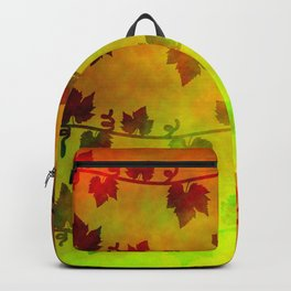 Harvest Time Vines Design Backpack