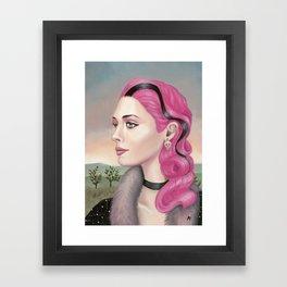 Thomasina Framed Art Print