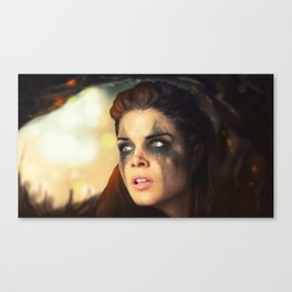 Octavia Blake. Marie Avgeropoulos The 100 Canvas Print