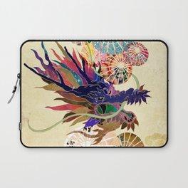Dragon with unbrellas Laptop Sleeve