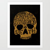 Last Enemy Art Print
