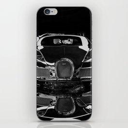 BUGATTI-VEYRON-CHROME iPhone Skin