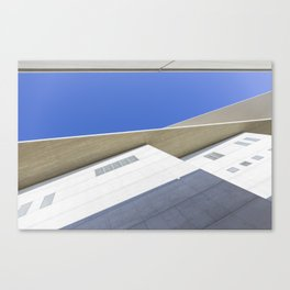 architectural detail of modern building Canvas Print