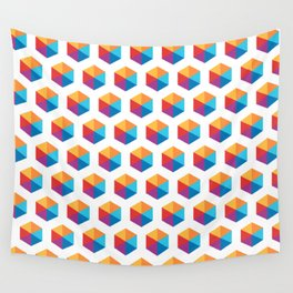 Rombos Pattern Wall Tapestry