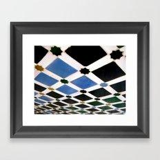 Geometric Love II Framed Art Print
