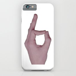 The Circle Game iPhone Case