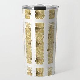Tiki Totems – Gold Palette Travel Mug