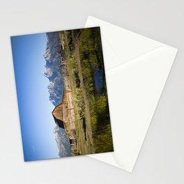 Mormon Row Grand Tetons Stationery Cards