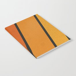 Retro 70s Stripes Notebook