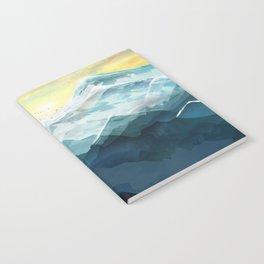 Mountain Range Notebook