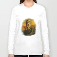 replaceface Long Sleeve T-shirts featuring George Lucas - replaceface by replaceface
