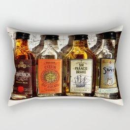 Bottle of Rum Rectangular Pillow