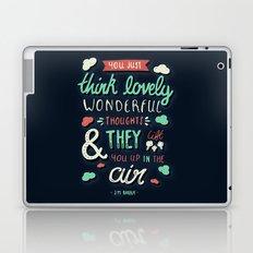 Lovely Wonderful Thoughts Laptop & iPad Skin