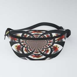 Mirror Image Abstract Fanny Pack