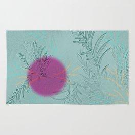 purple sun Rug