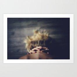 Cadence of her last breath Art Print