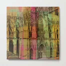 Lucite Cathedral Metal Print
