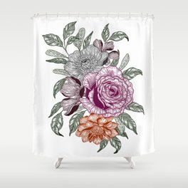 Overgrown 3 Shower Curtain