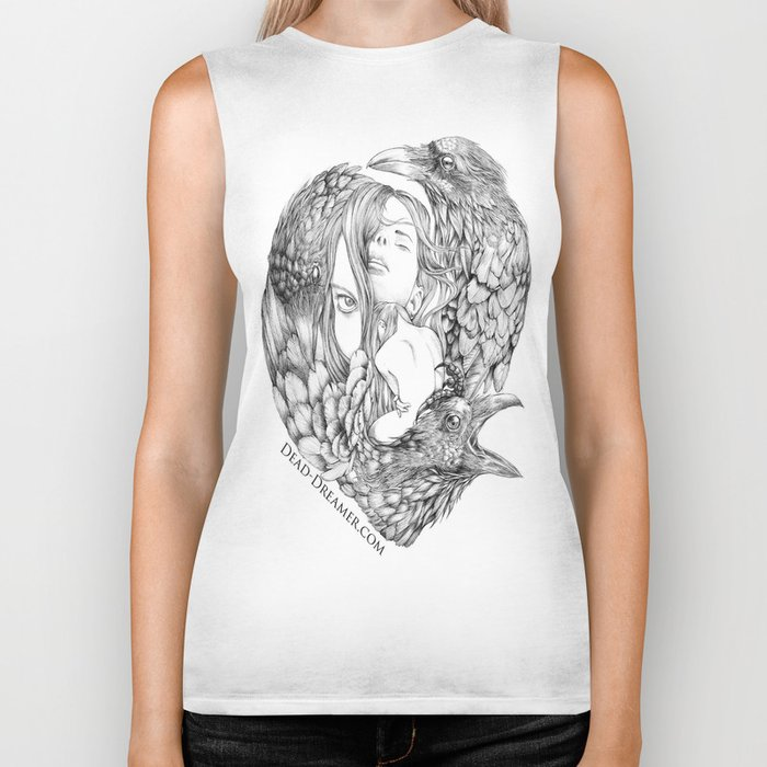 To Dream is to Die - Line Biker Tank