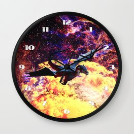 Planet of the Dragon Wall Clock