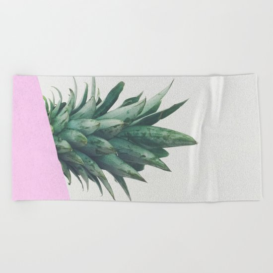 Pineapple Dip Beach Towel