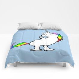Cute Dinocorn (T-Rex Unicorn) Comforters