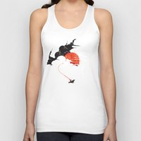 voyage Tank Tops featuring Uncharted Voyage by Marco Angeles