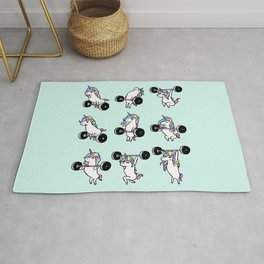 OLYMPIC LIFTING Unicorn Rug