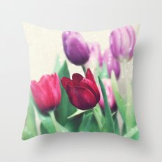 Spring Cheer Throw Pillow