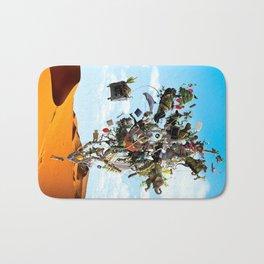 Surreal artwork Bath Mat