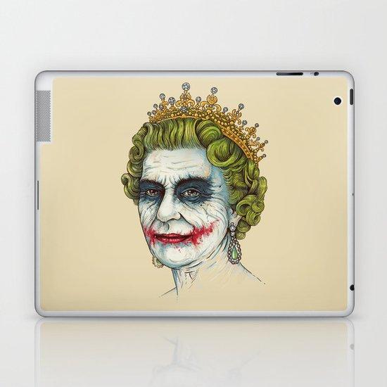 God Save the Villain! Laptop & iPad Skin