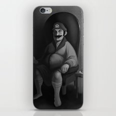 Portrait of a Plumber iPhone & iPod Skin