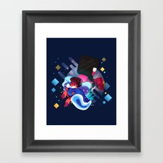 Made of Love Framed Art Print