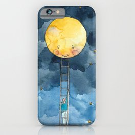 Ladder to the Moon iPhone Case
