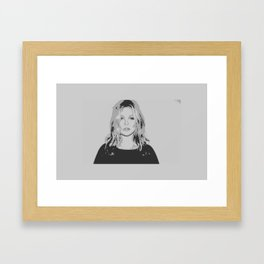 Kate impression art work Framed Art Print